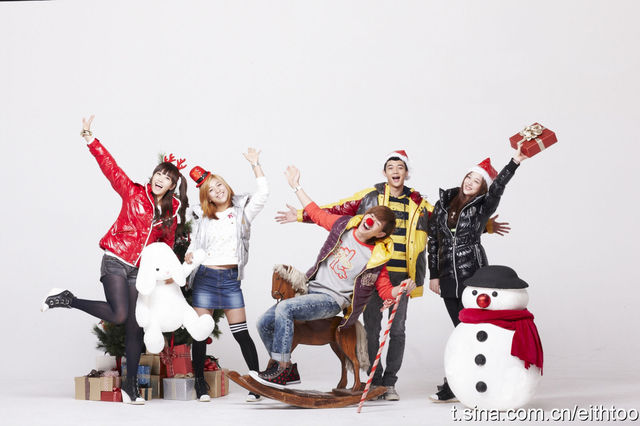Wallpapers Fx And Shinee Says Merry Christmas